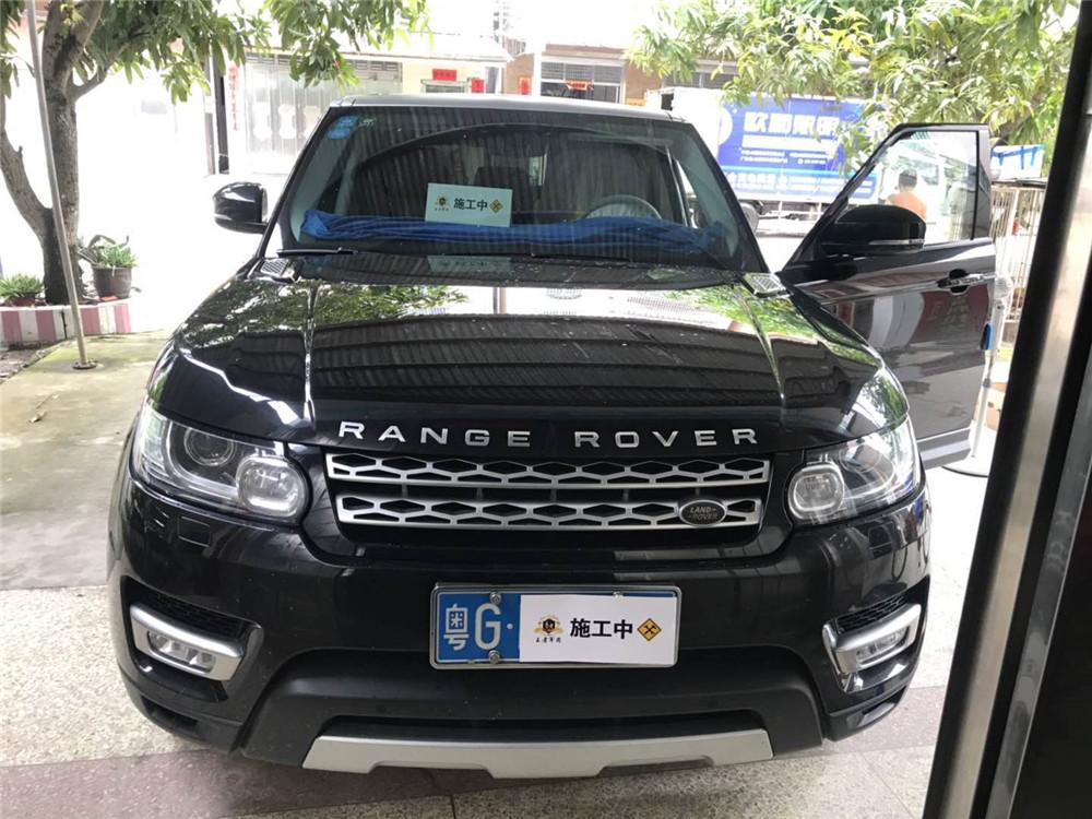 吴川路虎揽胜改装电动踏板
