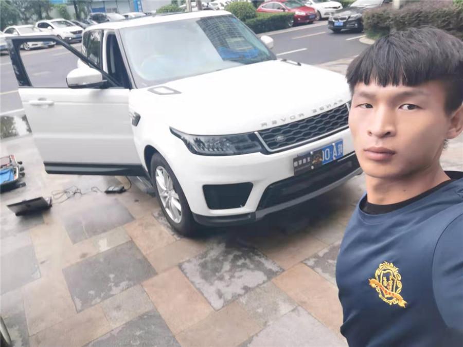 合肥19款路虎揽胜运动版改装RS高功率